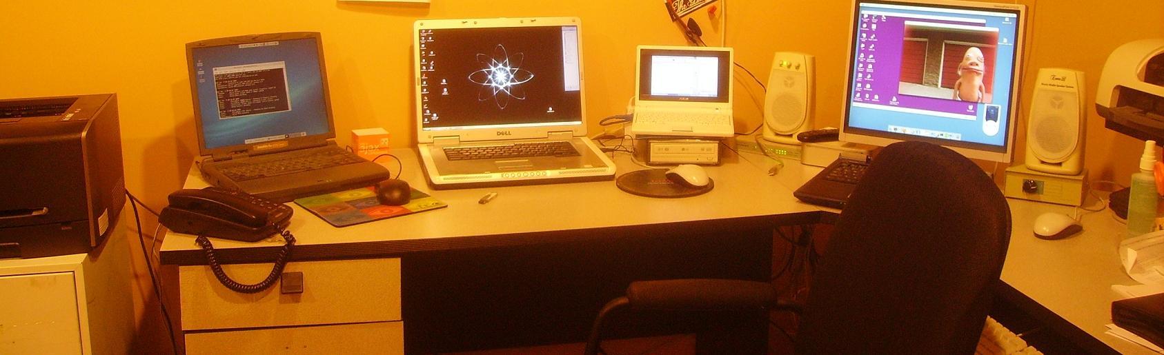 my home office computer setup